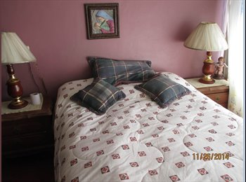CompartoDepa MX - Se rentan habitaciones amuebladas - Aguascalientes, Aguascalientes - MX$1500