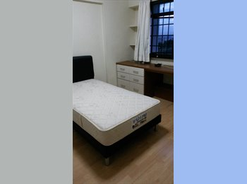 EasyRoommate SG - Telok Blangah Heights - One Common Room | A/C | - Telok Blangah, Singapore - $800