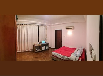 Master Room at a serene locality