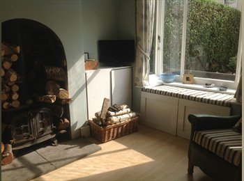 Large furnished room near city centre.