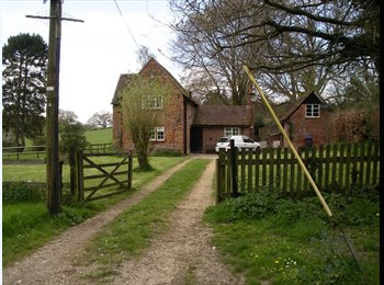 Double room in lovely rural property