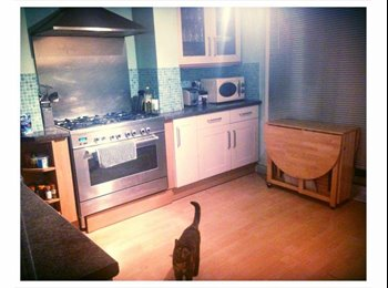 Double room with wardrobe space,ready 25th Jan 15