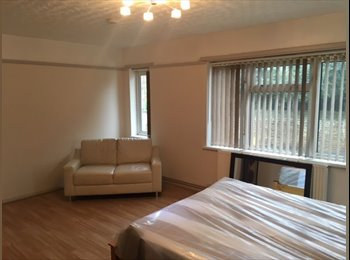 Large Double Room with private Lounge Room