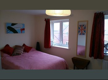 EasyRoommate UK - Spacious double bedroom in new two bed semi - Up Hatherley, Cheltenham - £415