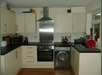Double room in a 3 bed semi-detached house.