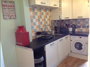 double room in a lovely annex, nice residence area