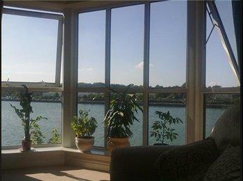 EasyRoommate UK - Large room in spacious flat overlooking the marina - Fulwood, Preston - £450