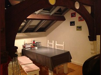 EasyRoommate UK - Double Bed in Two-bed Factory Conversion - Northampton, Northampton - £375