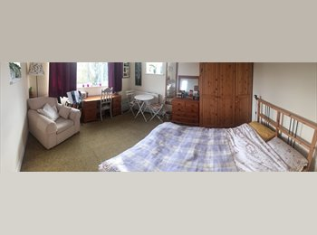 EasyRoommate UK - A large double room for single occupancy in a flat - Surbiton, London - £400