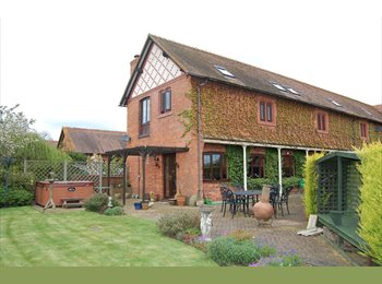 Large Double Room in Converted Barn available