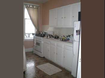 family renting a furnished room
