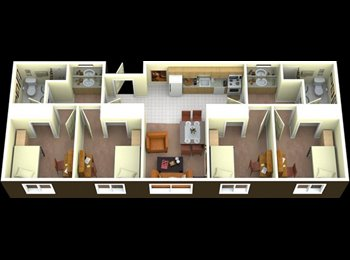 EasyRoommate US - Auraria Student Loft Dorm Room Available ASAP! - Central Denver, Denver - $705