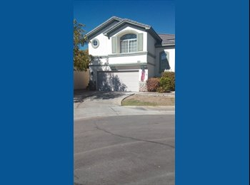 EasyRoommate US - Two rooms for rent Cheyenne Ft Apache 450$ 500$ - Lone Mountain, Las Vegas - $450