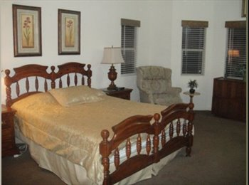 HIGH END - GORGEOUS 700 sq. ft MASTER BEDROOM IN L