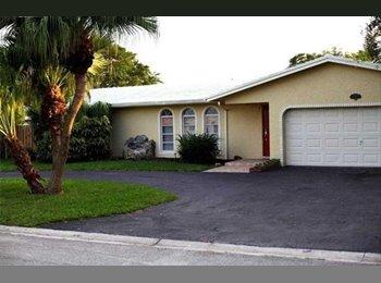 EasyRoommate US - Beautiful Private Room. - Coral Springs, Ft Lauderdale Area - $575