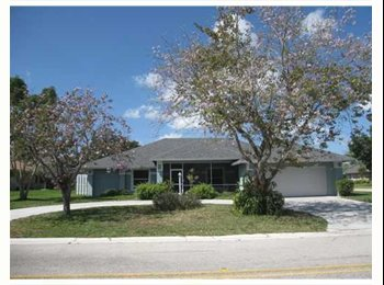 EasyRoommate US - large house in private gated community - Boynton Beach, Ft Lauderdale Area - $800