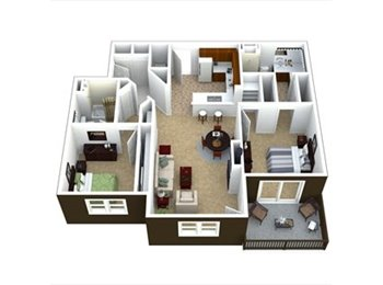 EasyRoommate US - Awesome 1185 sqft apartment, master bed/bath open! - Westminster, Denver - $790