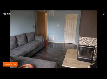 EasyRoommate US - 2 bedroom 2 bath Penthouse condo for rent  - Bridgewater, Central Jersey - $1900