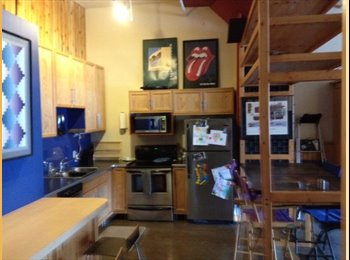 EasyRoommate US - loft,top floor - St Paul Downtown, Minneapolis / St Paul - $1200