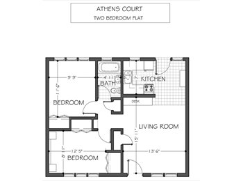 $500/100ft2 - bedroom and living room for rental (Ath