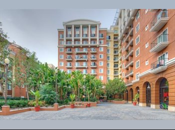 EasyRoommate US - 2 bed 1 bath at the Camden Harbor Apartments - Long Beach, Los Angeles - $1200