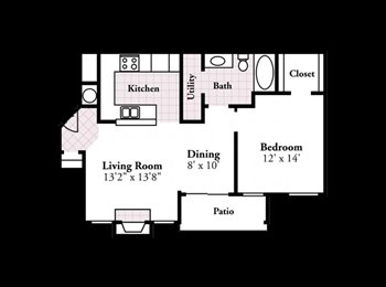 EasyRoommate US - Spacious 1 bed/1 bath apartment available!! - Fayetteville, Fayetteville - $845