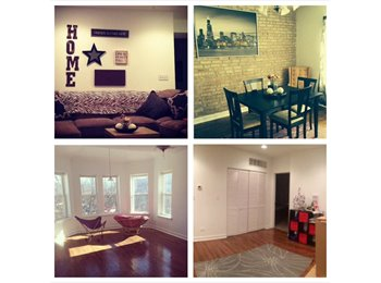 EasyRoommate US - 2 bdrm, 2 bath, newly renovated... Washer/dryer in unit & central air! - West Ridge, Chicago - $650