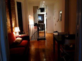 EasyRoommate US - Newly-finished, Fully-Furnished Duplex in SoHo - Nolita, New York City - $1800