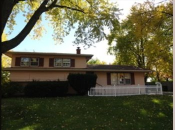 EasyRoommate US - 3 bedrooms, 2 full baths, finished lower level - Naperville, Naperville - $900