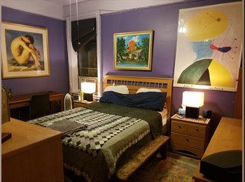EasyRoommate US -  I have an apt to share with someone ,neat all furnished - Inwood, New York City - $750