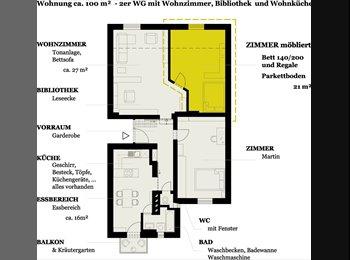 EasyWG AT - Möbliertes 21qm Zimmer in 2er WG, TU-Uni Nähe - Innenstadt, Graz - €450