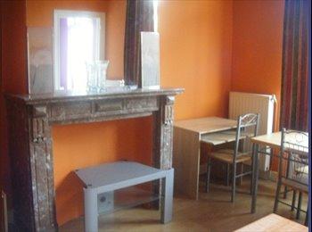 Appartager BE - Jolie appartement  à louer, living et une chambre. - Forest-Vorst, Bruxelles-Brussel - €650