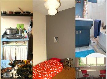Ruime, lichte, kamer/studio te huur