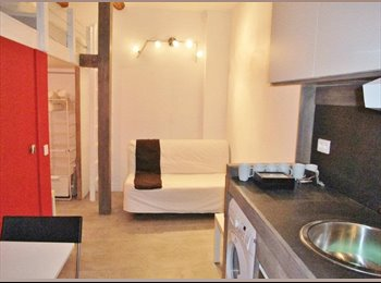 Appartager FR - Studio available September 1st 2015 - Cœur de Ville, Nice - €550