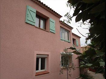 Grand appartement dans villa à Sanary