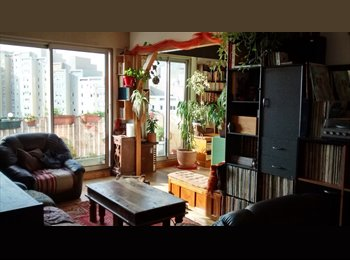 Appartager FR - Chambre meublée dans 63m² à Montreuil - Montreuil, Paris - Ile De France - €740