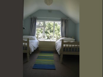 Twin room in south Dublin