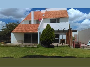 CompartoDepa MX - Comparto en privada Residencial x zona Ind - San Luis Potosí, San Luis Potosí - MX$2500