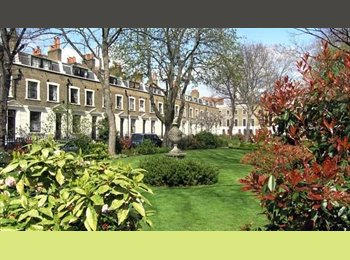 Lg Double Rm in Borough on Beautiful Garden Square