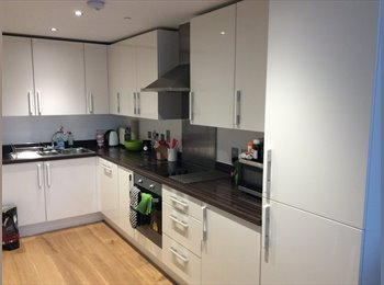 EasyRoommate UK - Beautiful double room in modern apartment - Woolwich, London - £600