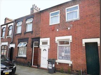 EasyRoommate UK - Wonderful Hanley Room Available - Stoke-on-Trent, Stoke-on-Trent - £250