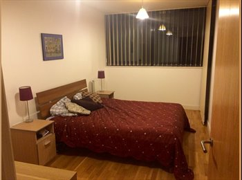 EasyRoommate UK - Very large room in a modern 2 bedroom flat. - Elephant and Castle, London - £1200