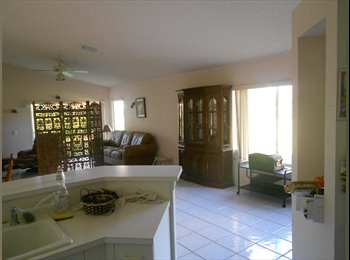 EasyRoommate US $550 one room private bath in Weston, Fl house - Weston, Ft Lauderdale Area - $550 per Month(s) - Image 1