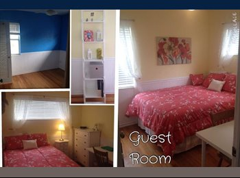 Furnished room available in St. Pete westside home