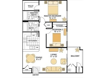 Roommate wanted to share 2bd/2ba