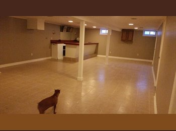 $700 Spacious Basement For Rent with bar+washer