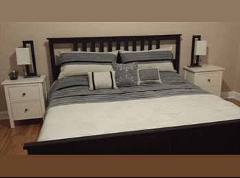 Big and confortable room in a newly renovated home