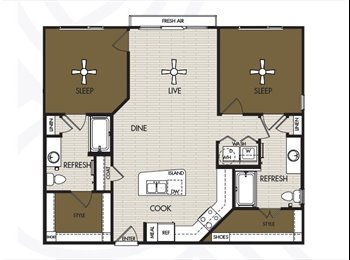 Centralized Luxury Apartment - ADDISON