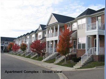 EasyRoommate US - 1,600 sq. ft. Apartment at The Preserves - Sterling Heights, Detroit Area - $778