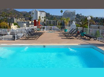 EasyRoommate US - Great room in apartment available Feb 1! - West Hollywood, Los Angeles - $1300